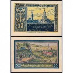 Pologne - Notgeld - Freiburg (Swiebodzice) - 50 pfennig - 09/1921 - Etat : SPL