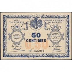 Rouen - Pirot 110-1 - 50 centimes - Sans date - Etat : SPL