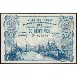 Rouen - Pirot 110-46 - 50 centimes - 1920 - Etat : SUP+