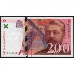 F 75-01 - 1995 - 200 francs - Eiffel - Etat : TTB