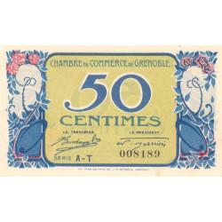 Grenoble - Pirot 63-15 - Série AT - 50 centimes - 1917 - Etat : SUP
