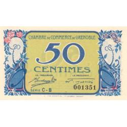Grenoble - Pirot 63-17 - 50 centimes - Série CB - 08/11/1917 - Etat : SPL