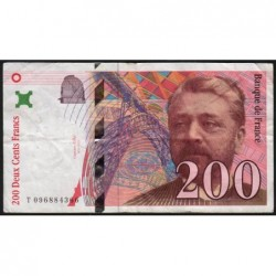 F 75-05 - 1998 - 200 francs - Eiffel - Etat : TB
