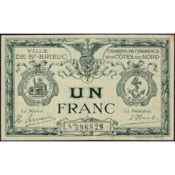 Saint-Brieuc - Pirot 111-12 - Série A - 1 franc - Sans date - Etat : SUP