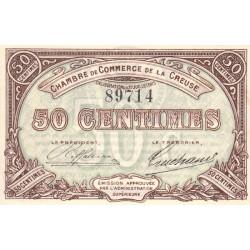 Gueret (Creuse) - Pirot 64-1 - 50 centimes - 1915 - Etat : SPL