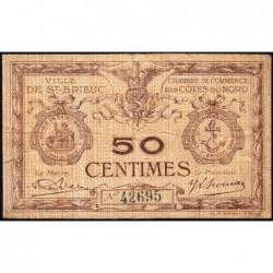Saint-Brieuc - Pirot 111-19 - Série E - 50 centimes - Sans date - Etat : TB