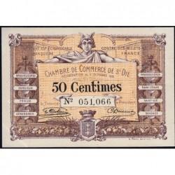 Saint-Dié - Pirot 112-1 - 50 centimes - 09/10/1915 - Etat : SPL