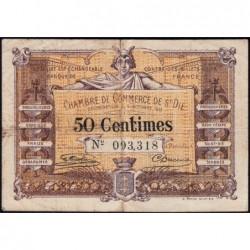 Saint-Dié - Pirot 112-1 - 50 centimes - 09/10/1915 - Etat : TB