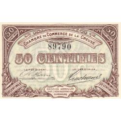 Gueret (Creuse) - Pirot 64-1 - 50 centimes - 1915 - Etat : NEUF