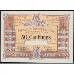 Saint-Dié - Pirot 112-6 - 50 centimes - Spécimen - 10/05/1916 - Etat : NEUF