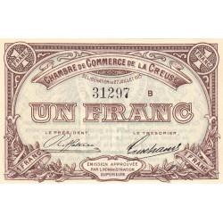 Gueret (Creuse) - Pirot 64-3 - 1 franc - Série B - 27/07/1915 - Etat : NEUF