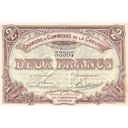 Gueret (Creuse) - Pirot 64-5 - 2 francs - Sans série - 27/07/1915 - Etat : SUP