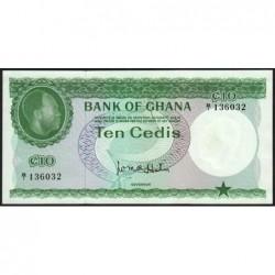 Ghana - Pick 7 - 10 cedis - Série B/1 - 1965 - Etat : NEUF