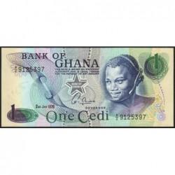 Ghana - Pick 13c_1 - 1 cedi - Série F/2 - 02/01/1976 - Etat : NEUF