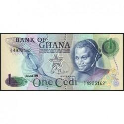 Ghana - Pick 13c_2 - 1 cedi - Série V/2 - 02/01/1976 - Etat : NEUF