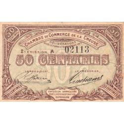 Gueret (Creuse) - Pirot 64-7-A - 50 centimes - 1915 - Etat : TB