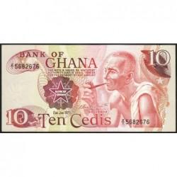 Ghana - Pick 16f - 10 cedis - Série Z/1 - 02/01/1978 - Etat : SPL