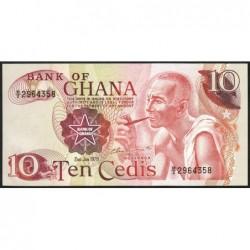 Ghana - Pick 16f - 10 cedis - Série B/2 - 02/01/1978 - Etat : NEUF