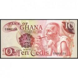 Ghana - Pick 16f - 10 cedis - Série B/2 - 02/01/1978 - Etat : pr.NEUF