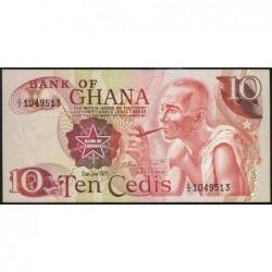 Ghana - Pick 16f - 10 cedis - Série C/2 - 02/01/1978 - Etat : NEUF