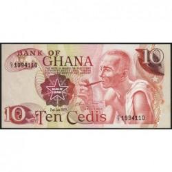 Ghana - Pick 16f - 10 cedis - Série C/2 - 02/01/1978 - Etat : pr.NEUF
