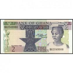Ghana - Pick 18d - 2 cedis - Série BG - 06/03/1982 - Etat : NEUF