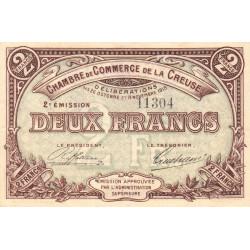 Gueret (Creuse) - Pirot 64-11 - 2 francs - Sans série - 2e émission - 26/10/1915 - Etat : TTB+
