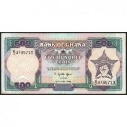 Ghana - Pick 28c_4 - 500 cedis - Série D/2 - 10/06/1994 - Etat : TTB