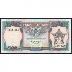 Ghana - Pick 28c_4 - 500 cedis - Série D/2 - 10/06/1994 - Etat : NEUF