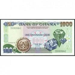 Ghana - Pick 29a - 1'000 cedis - Série A/3 - 22/02/1991 - Etat : NEUF