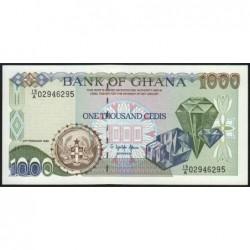 Ghana - Pick 29b_4 - 1'000 cedis - Série 19/A - 23/02/1996 - Etat : NEUF