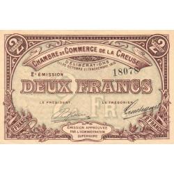 Gueret (Creuse) - Pirot 64-11 - 2 francs - Etat : TTB