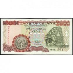 Ghana - Pick 33h - 2'000 cedis - Série NP - 04/08/2003 - Etat : NEUF