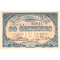 Gueret (Creuse) - Pirot 64-13-A - 50 centimes - 1917 - Etat : SUP+