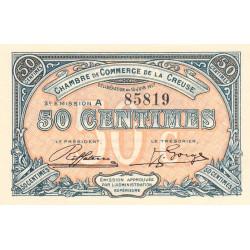 Gueret (Creuse) - Pirot 64-13 - 50 centimes - Série A - 3e émission - 15/06/1917 - Etat : NEUF