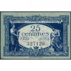 Saint-Etienne - Pirot 114-5 - 25 centimes - 12/01/1921 - Etat : SUP+