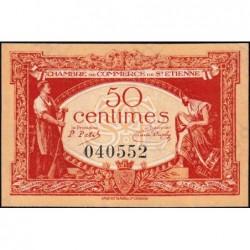 Saint-Etienne - Pirot 114-6 - 50 centimes - Sans Série - 12/01/1921 - Etat : SPL