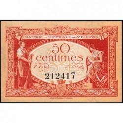 Saint-Etienne - Pirot 114-6 - 50 centimes - Sans Série - 12/01/1921 - Etat : NEUF