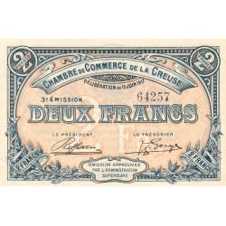 Gueret (Creuse) - Pirot 64-15 - 2 francs - 1917 - Etat : SUP+