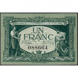 Saint-Etienne - Pirot 114-7 - 1 franc - 12/01/1921 - Etat : SPL
