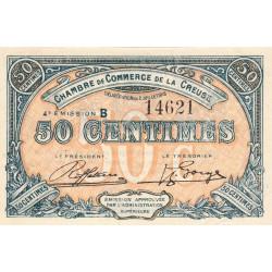 Gueret (Creuse) - Pirot 64-16-B - 50 centimes - 1918 - Etat : SUP+