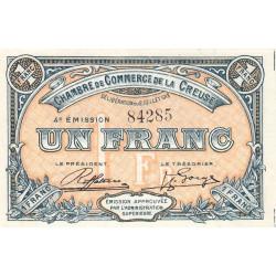 Gueret (Creuse) - Pirot 64-17 - 1 franc - Sans série - 4e émission - 02/07/1918 - Etat : SPL