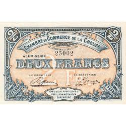 Gueret (Creuse) - Pirot 64-18 - 2 francs - Sans série - 4e émission - 02/07/1918 - Etat : SUP+