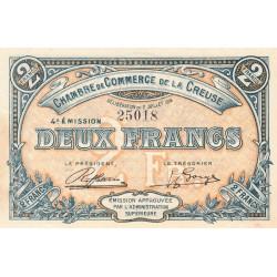 Gueret (Creuse) - Pirot 64-18 - 2 francs - 1918 - Etat : SUP