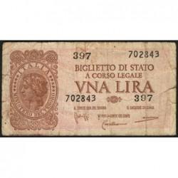 Italie - Pick 29b - 1 lira - 1950 - Etat : TB-