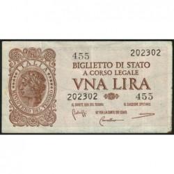 Italie - Pick 29b - 1 lira - 1950 - Etat : TTB