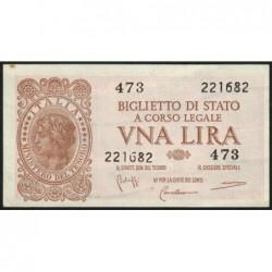 Italie - Pick 29b - 1 lira - 1950 - Etat : SPL-