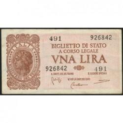 Italie - Pick 29b - 1 lira - 1950 - Etat : SUP+