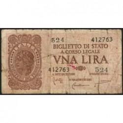 Italie - Pick 29b - 1 lira - 1950 - Etat : B+