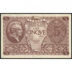 Italie - Pick 31b - 5 lire - 1948 - Etat : TTB+
